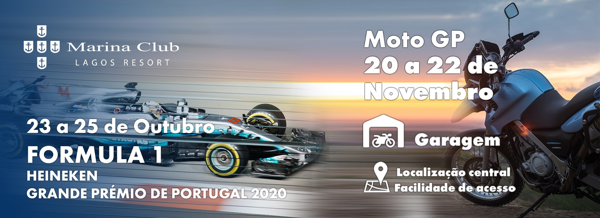 23 a 25 de Outubro FORMULA 1 HEINEKEN GRANDE PRÉMIO DE PORTUGAL 2020