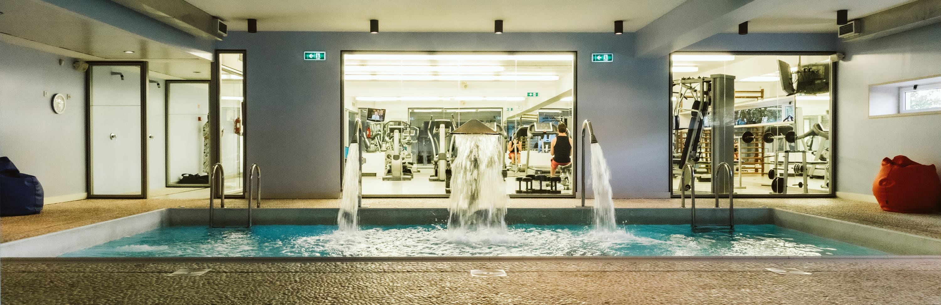 Gym, Spa & Indoor Swimming pool